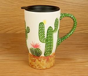 Fresno Cactus Travel Mug
