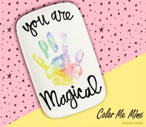 Fresno Rainbow Hand-print