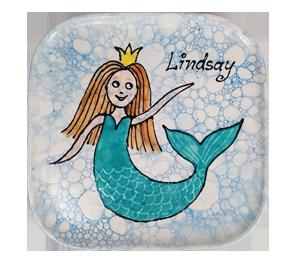 Fresno Mermaid Plate