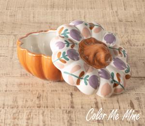 Fresno Floral Pumpkin Box