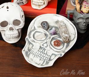 Fresno Vintage Skull Plate