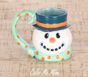 Fresno Snowman Mug