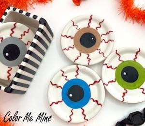 Fresno Eyeball Coasters